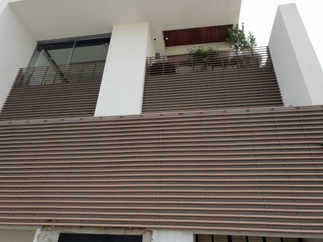 לוחות עץ - חיפוי קיר חיצוני