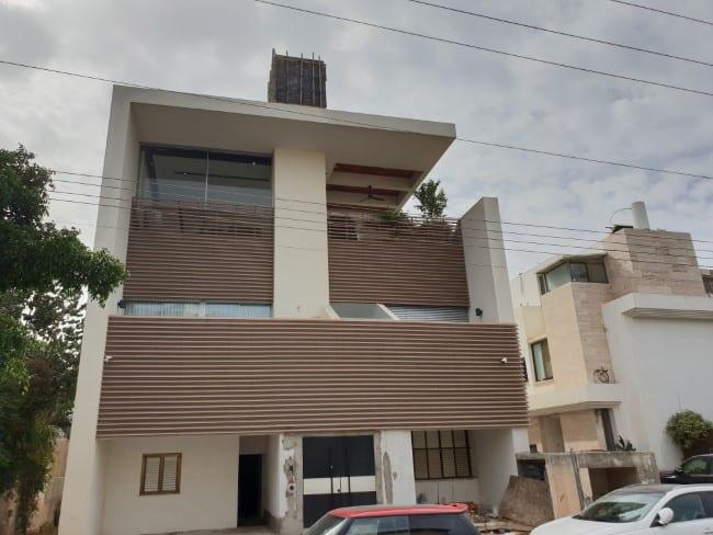 חיפוי קיר חיצוני בניין בהרצליה